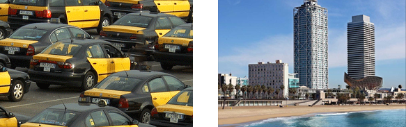 Taxi online Barcelona
